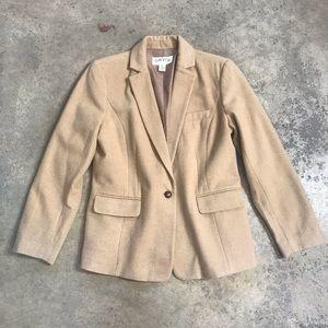 Orvis Women's Luxury Pure Camel Hair Jacket 12